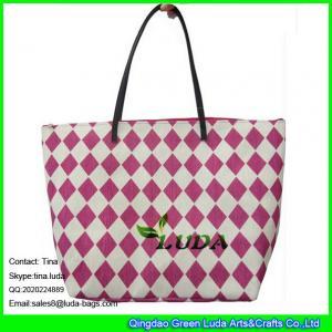 Buy cheap LUDA red beach women handbags paper straw fashion bags product