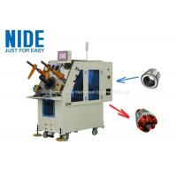 Buy cheap High efficiency Air Conditioner Motor Stator Winding Inserting Machine product
