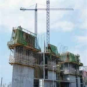 Buy cheap las construcciones del embarcadero, las altas construcciones de edificios, y las chimeneas que suben encofrado resisten la pendiente, viento product