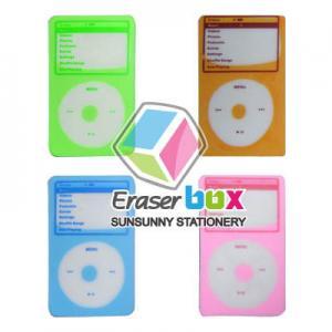 SMC044 sacóborrador multicolor de los niños de iPod TPR, borradores de encargo