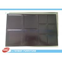 Buy cheap Shop Chocolate engraved Wood Display Accessory For MDF Display Stand product