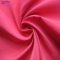 China F4201 100% polester imitation memory fabric two tones with wr pu coating for jacket on sale