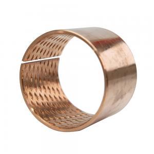 Buy cheap Wear Resistant DIN1494 Low Noise Wrapped Bronze Bushings product