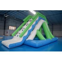 China Customized 0.9mm PVC Tarpaulin Inflatable Water Slide For Commercial Use on sale