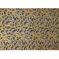 Buy cheap Bronzing Sound Insulation Printed Felt Sheets Polyester Fabric Material For Acoustic Panels product
