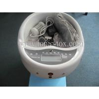 China Foot Bath Massager Machine Detox Foot Spa , Ion Detox Foot Bath With Far Infrared Heating Massage on sale