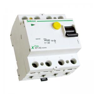 Buy cheap El disyuntor actual residual 50/60 herzios de la protección de la sobreintensidad de corriente valoró frecuencia product