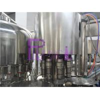 24 Heads PET Bottle Drinking Water Filling Plant With PLC Control