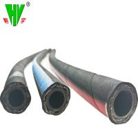 Buy cheap Hydraulic hose pipe customized sizes flexible hydraulic pipe DIN EN857 1SC from wholesalers