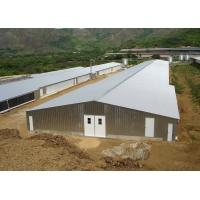 China Prefab Light Steel Structure Poultry House Poultry Shed Construction With Control Room on sale