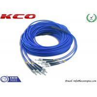 Buy cheap 4 Cores Armored Fiber Optic Patch Cord ST to ST Rodent Resistant product