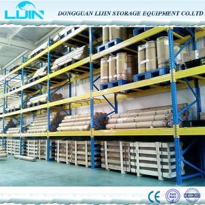 Supports résistants de palette de stockage de cargaison, rayonnage industriel adapté aux besoins du client en métal