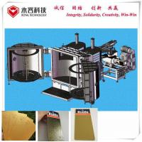 Buy cheap Electrical Control Vacuum Metalizing Machine For Cu Copper PVD Thermal Evaporation Coating product