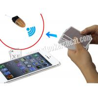 Buy cheap White English Version Iphone 5S Poker Analysis Software , Poker Cheating Tools product
