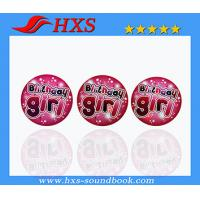 Buy cheap Promotion Tinplate Light Badge With Custom Logo product