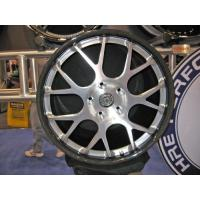 Buy cheap Solid rubber loose wheel with steel core, double ball bearing product