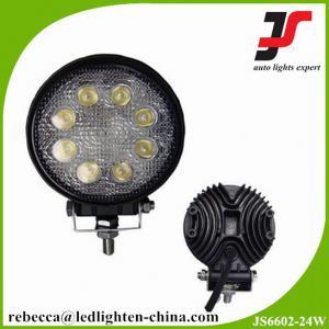 China 10-30V DC Waterproof IP67 Epistar 24W Automotive LED Work Light on sale