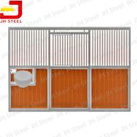 Buy cheap Hot Dip Galvanized European Horse Stalls , Portable Horse Box Stalls Large Size product