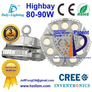 Buy cheap LEDセリウムが付いている高い湾ライト80-90W、RoHSはベストの冷却の効率中国製証明し、 product