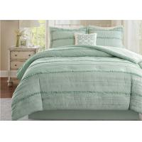 Buy cheap Soft Ruffle Lightweight Down Alternative Comforter Set Multiple Colors Optional product
