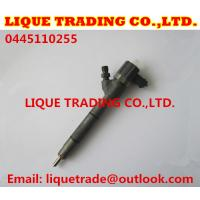 Quality BOSCH Common rail injector 0445110255, 0445110256 for HYUNDAI & KIA 33800-2A400 for sale