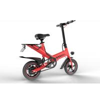 Quality 400W 48V Folding Road Bike Portable Electric Bicycles For Adults / Children for sale