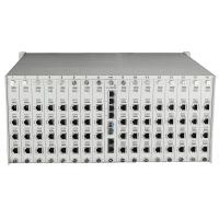 256 channel voice optical transmitter and receiver fiber optic network equipment.
