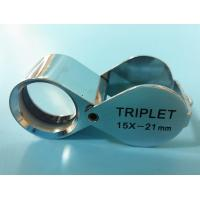 Buy cheap Folding Glass Jewelry Loupe with Magnification of 15X and Triplet Lens product