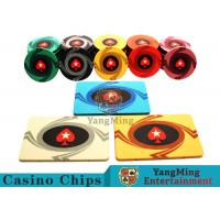 Buy cheap 3.3mm Thickness 12 - 32g Casino Poker Chips / Customized Ceramic Chip Can be custom product