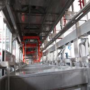 Buy cheap Large Aluminium Titanium Anodize Plant / Anodic Oxidation Machine Line product