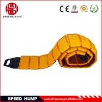 China Yellow Plastic Portable Speed Hump on sale
