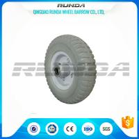 Buy cheap Roller Bearing Hand Dolly Wheels 70mm Hub Length Super Elasticity OEM Allowed product