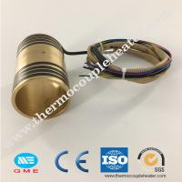 Buy cheap Hot runner brass pipe heater nozzle heater pressed with coil heater for plastic from wholesalers