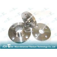 China Lightweight 3AL 25V Titanium Forging Silvery-White Metal For Knives on sale