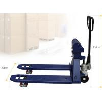 China 1Ton - 3Ton Forklift Lift Truck Scales Hydraulic Hand Pallet Scale With Display on sale