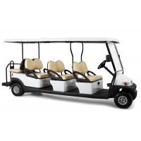 Buy cheap Rear Drum Brake 6 Passenger Electric Golf Cart With Foldable Windshield product