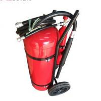 Buy cheap 30 KG DCP Fire Extinguisher , Powder Coating Red Fire Extinguisher Trolley Units product