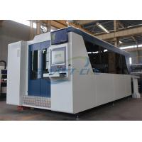 Buy cheap Water Cooling Fiber Laser Cutting Machine 2000×6000mm Exchange Table product