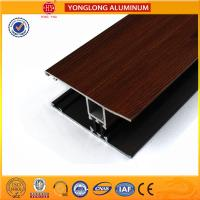 Buy cheap Wood Grain Stereoscopic Aluminum Window Profiles Environmental Protection product