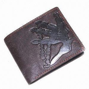 Buy cheap La cartera de cuero de los hombres de moda, hecha de la PU, OEM y ODM es agradable product