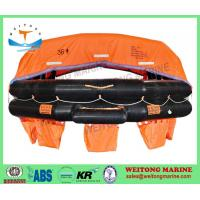 Buy cheap Lifesaving Rafts Solas Approved Inflatable Throw Overboard A Type Life Raft with EC CCS Certificate product