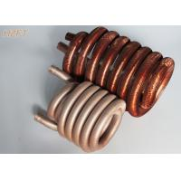 China Copper or Copper Nickel Refrigerator Condenser Coil Tin plating outside surface wholesale