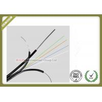 Buy cheap GJYXFCH 4core Single Mode Outdoor Fiber Optic Cable with FRP messenger wire from wholesalers