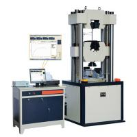 Buy cheap 300KN Servo controlled hydraulic Material Testing Machines Universal Testing Equipment product