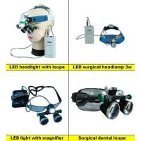 Buy cheap LED headlight with magnifier surgical dental loupes product