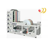 China Paper Cup 6 Color Flexo Printing Machine High Speed Unwinding on sale