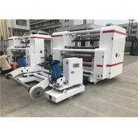 Buy cheap High Precision Label Slitter Rewinder Machine 1300mm Raw Material Width product