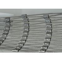 Buy cheap High Strength Stainless Steel Cable Net , Wire Rope Mesh Netting For Children'S Activity product