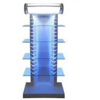 China Peg Hook Fashion Recycled Wooden Display Stands With LED for super market on sale