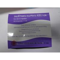 0.5mg / 1ml BP Salbutamol Sulfate Injection Medicine For Bronchospasm Relieve